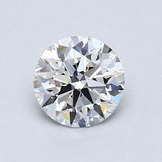 0,82-Carat Round Diamond Ideal G IF