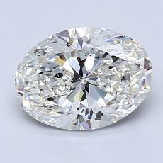 Recommended Stone #4: 2,00-Carat Oval Cut Diamond