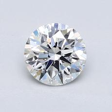 Recommended Stone #1: 0.83-Carat Round Cut