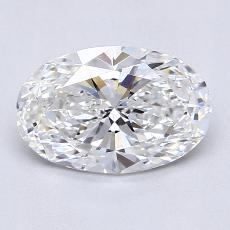 Recommended Stone #3: 1.30-Carat Oval Cut Diamond