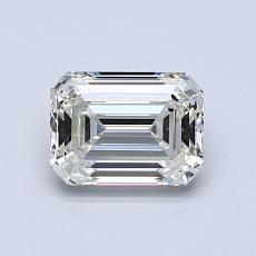 1,01-Carat Emerald Diamond Very Good J VS1