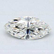 推薦鑽石 #2: 0.60 克拉欖尖形切割