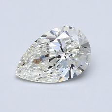 0.70 Carat 梨形 Diamond 非常好 I VS1