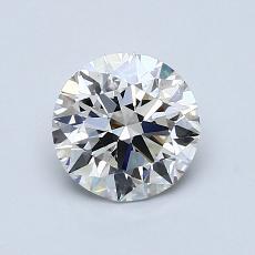 1.01 Carat 圓形 Diamond 理想 H VS2