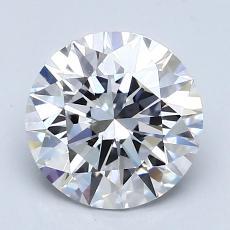 1.51 Carat 圓形 Diamond 理想 D VS1