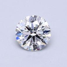 Target Stone: 0.73-Carat Round Cut Diamond