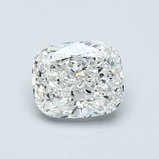 0.90-Carat Cushion Diamond Very Good F VVS2