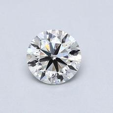 0.50-Carat Round Diamond Very Good G SI1