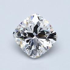 オススメの石No.2:1.20カラットのクッションカットダイヤモンド