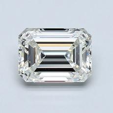 Piedra recomendada 3: Diamante de talla esmeralda de 1.21 quilates