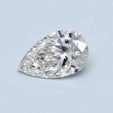 0.50 Carat 梨形 Diamond 非常好 I VS1
