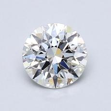1.01-Carat Round Diamond Ideal H VS1