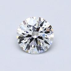 Recommended Stone #1: 0.64-Carat Round Cut Diamond