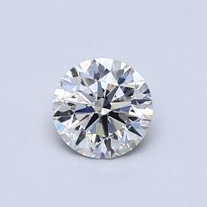 0.52 Carat 圓形 Diamond 理想 G VS1