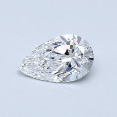 Recommended Stone #4: 0.48-Carat Pear Cut Diamond