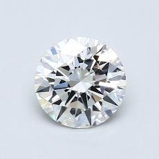 0.72 Carat 圆形 Diamond 理想 G VVS2
