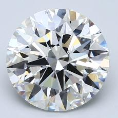 Recommended Stone #3: 3.31-Carat Round Cut Diamond