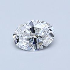 Recommended Stone #2: 0.53-Carat Oval Cut