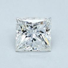 推荐宝石 2:1.10 克拉公主方形钻石