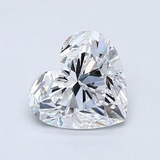 Recommended Stone #2: 1.12-Carat Heart Cut Diamond