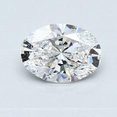 Recommended Stone #1: 0.70-Carat Oval Cut Diamond