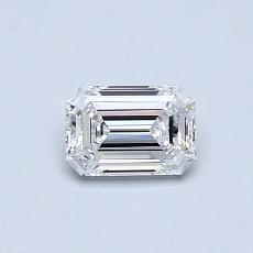 Recommended Stone #2: 0.41-Carat Emerald Cut Diamond
