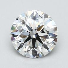 1.51-Carat Round Diamond Ideal H VS1