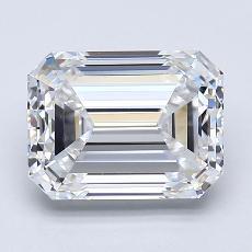Recommended Stone #4: 2.70-Carat Emerald Cut Diamond