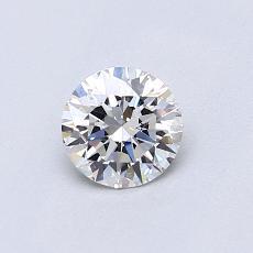 0.52 Carat 圆形 Diamond 理想 G VS1