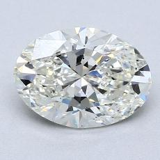 Recommended Stone #3: 1,52-Carat Oval Cut Diamond