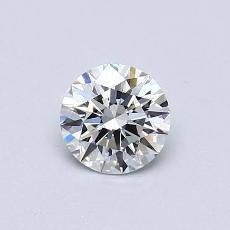0.50 Carat 圓形 Diamond 理想 F VVS1