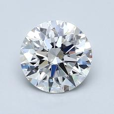 1.30-Carat Round Diamond Ideal E VS1