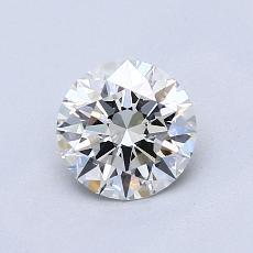 0.81 Carat 圆形 Diamond 理想 I VVS2
