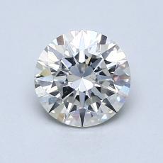 1.00 Carat 圆形 Diamond 理想 H SI1