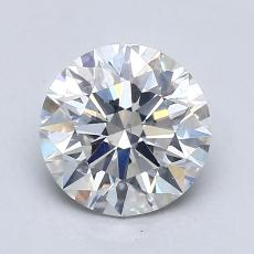 1.03-Carat Round Diamond Ideal F SI1