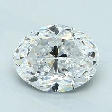 Recommended Stone #3: 1.51-Carat Oval Cut Diamond