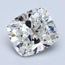 推薦鑽石 #3: 1.90  克拉墊形切割鑽石