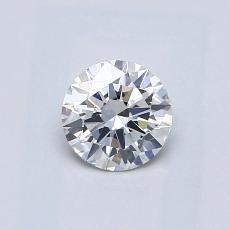 0.50 Carat 圓形 Diamond 理想 G SI1