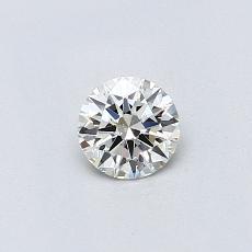 0.31-Carat Round Diamond Ideal K VVS1