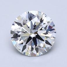1.52 Carat 圓形 Diamond 理想 D VVS1