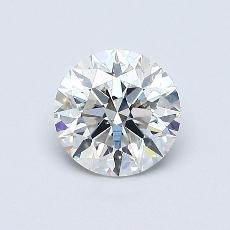 Recommended Stone #3: 0.64-Carat Round Cut