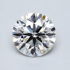 1.01 Carat 圓形 Diamond 理想 G VVS2