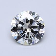1,00-Carat Round Diamond Very Good I SI2