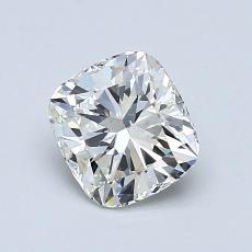 1.01-Carat Cushion Diamond Very Good J VS2