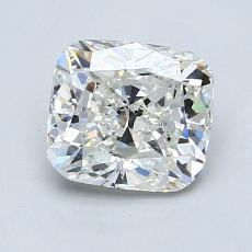 Pierre recommandée n°4: Diamant Taille coussin de 1,45carat