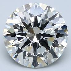 Recommended Stone #2: 4.03-Carat Round Cut Diamond