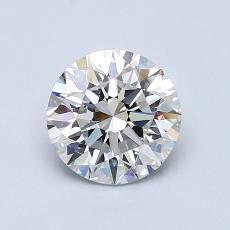 1,00 Carat Rond Diamond Idéale F IF