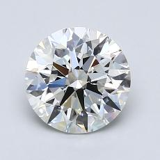 1.50-Carat Round Diamond Ideal E VS1