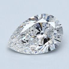 推荐宝石 3:1.20 克拉梨形切割钻石