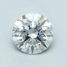 1.00-Carat Round Diamond Ideal F SI2